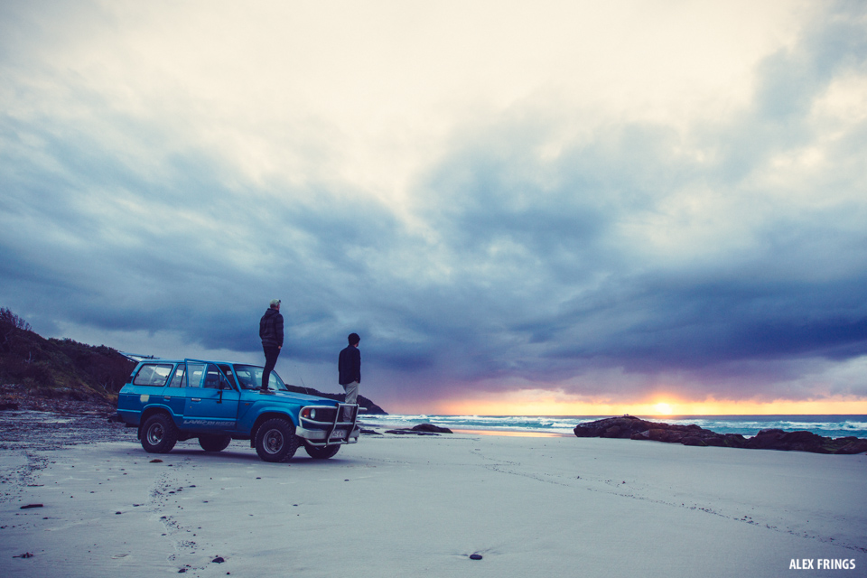 sunrise surf check toyota landcruiser johnny abegg