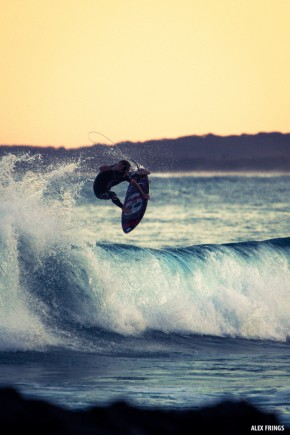 Luke Stickley aerial cosy corner Byron Bay