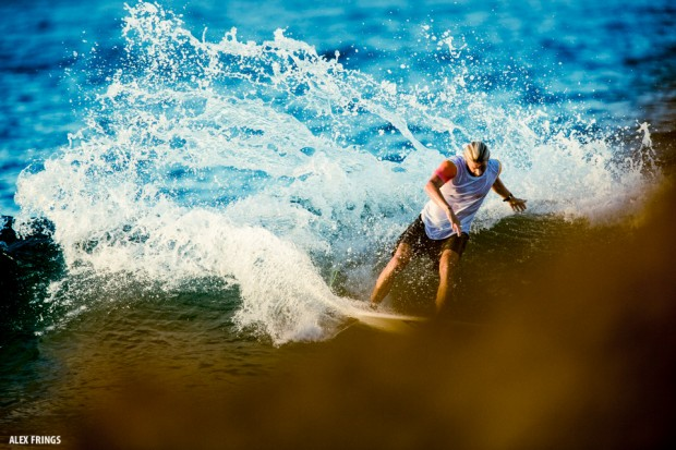 Torren Martyn surfing The Pass in Byron Bay