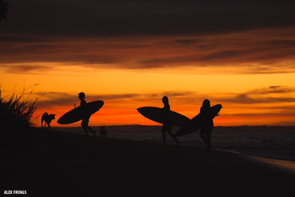 Sunset Surf Mentawai