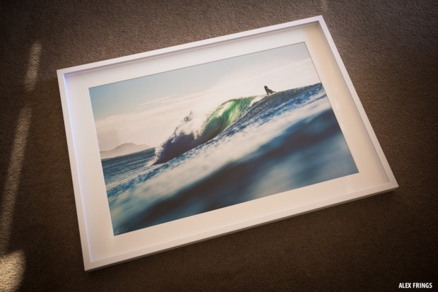 Alex Frings framed print in shadow box frame