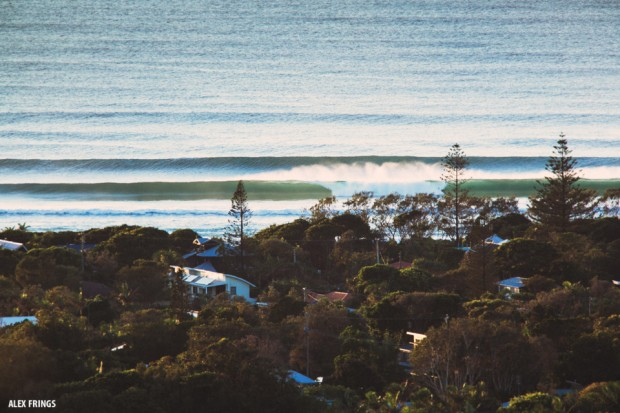Byron Bay open beaches pumping