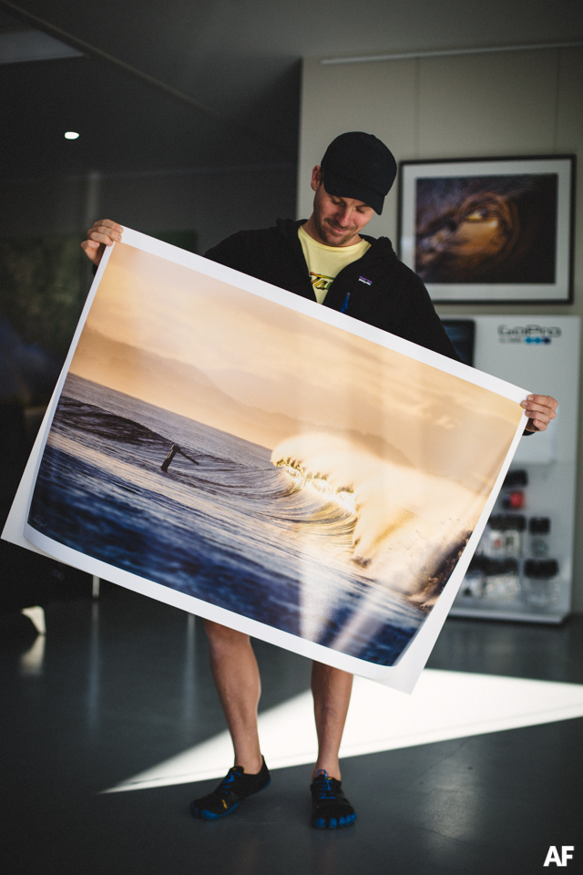 Alex Frings Photography print of The Wreck in Byron Bay